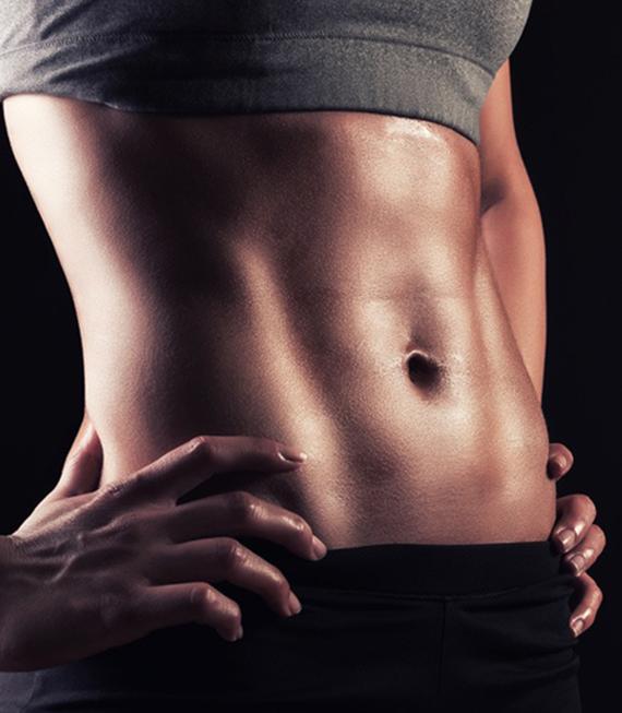 كيف اطلع عضلات البطن للبنات
